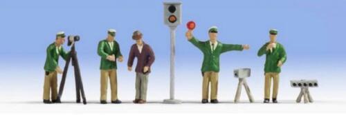 N Scale - Noch - 36099 - Traffic Police Officers - People