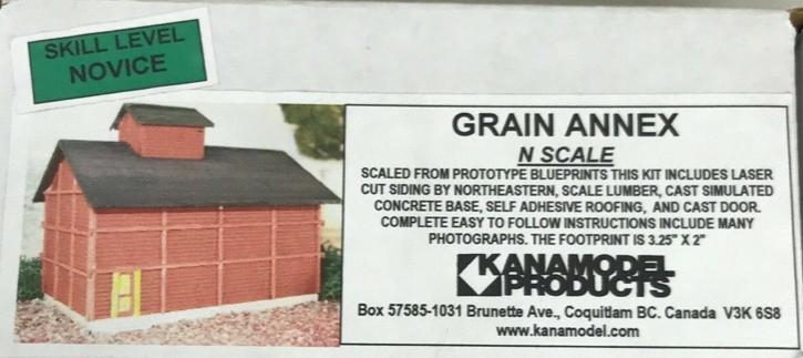 N Scale - KanaModel - 6016 - Grain Bin - Farm Structures - Grain Bin