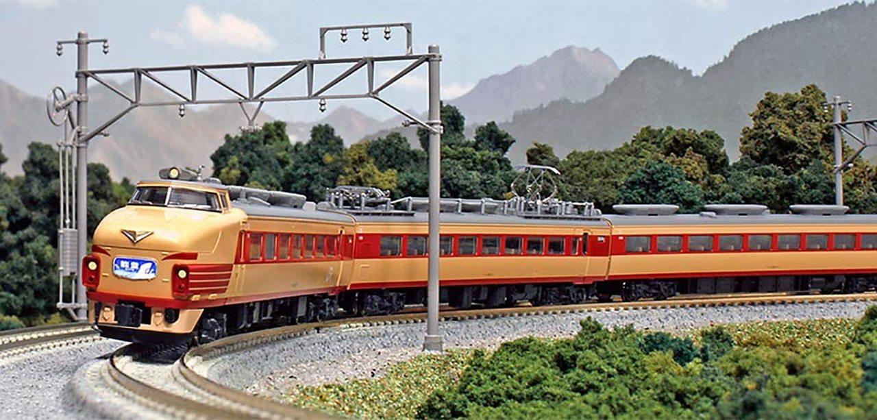N Scale - Kato - 10-818 - JR 489 Series - Japan Railways East - Kuha 489-501