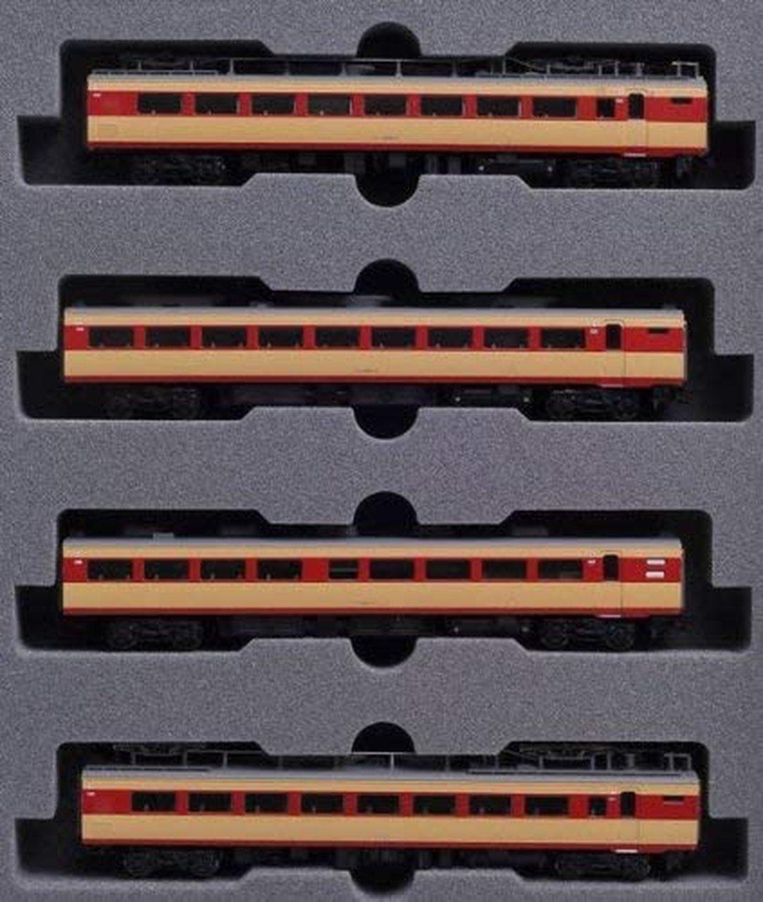 N Scale - Kato - 10-819 - JR 489 Series - Japan Railways East - 4-Pack (Add-On Set)