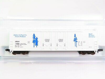 N Scale - The Freight Yard - 2007C - Boxcar, 53 Foot, Evans Double Plug Door - Bend Millwork - 17066