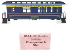 N Scale - Roundhouse - 8544 - Passenger Car, Early, Overton - Chesapeake & Ohio