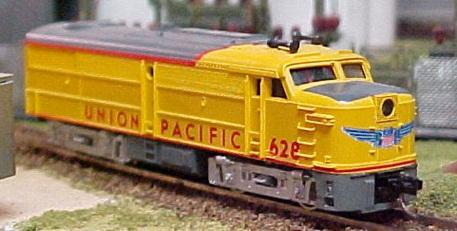 N Scale - Roco - 3159D - Locomotive, Diesel, Alco FA/FB - Union Pacific - 628