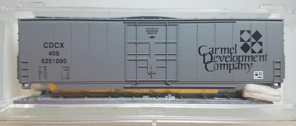 N Scale - Aztec - CDC1 - Boxcar, 50 Foot, Steel, Hi-Cube - Carmel Development Company - 408 6251090