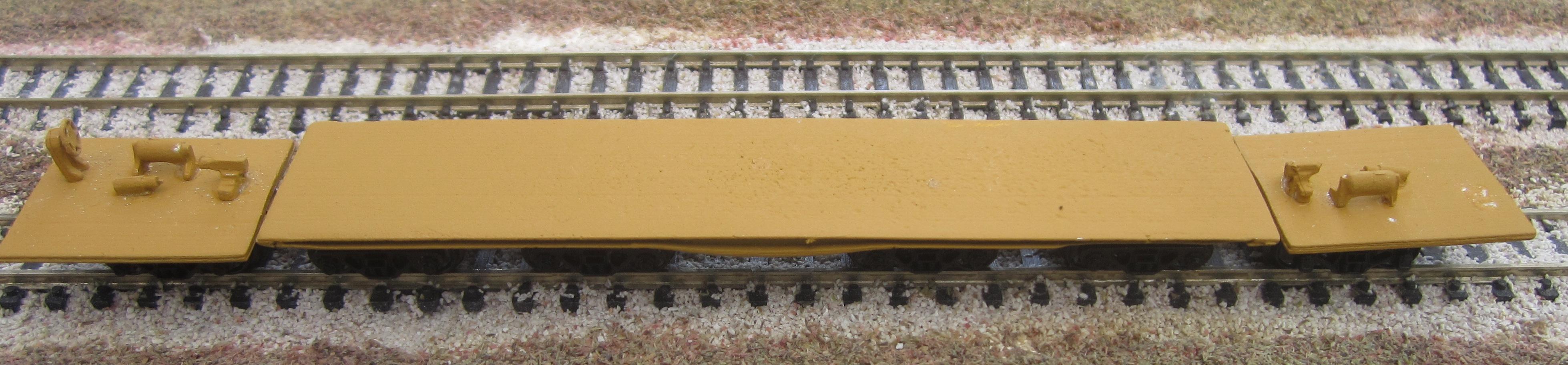 N Scale - N Scale Kits - NS171 - Flatcar, Heavy Duty - Undecorated