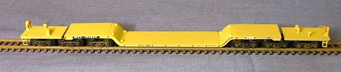 N Scale - N Scale Kits - NS076 - Flatcar, Heavy Duty - Undecorated