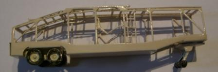 N Scale - N Scale Kits - NS111 - Auto Carrier - Undecorated