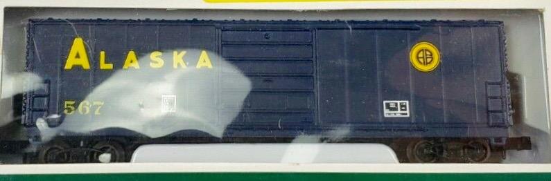N Scale - Industrial Rail - 7793ALA - Boxcar, 50 Foot, Evans 5277 - Alaska Railroad - 567