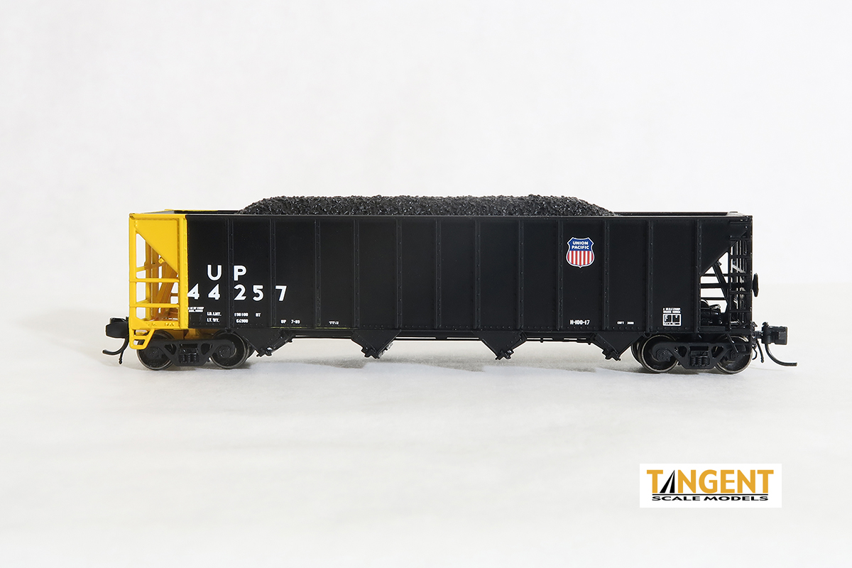 N Scale - Tangent - 80015-02 - Open Hopper, 4-Bay Bethlehem 3600 - Union Pacific - 44259
