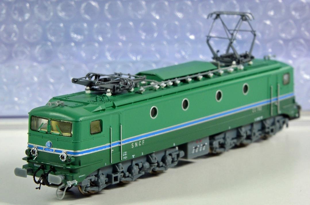 N Scale - Hobbytrain - H2930 - Locomotive, Electric, SNCF CC 7100 - SNCF - CC 7102
