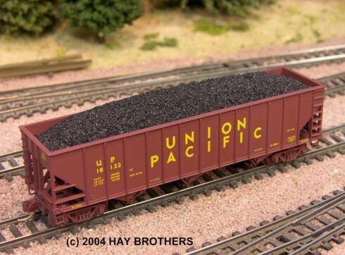 N Scale - Hay Bros - 2003-01 - Load - Painted/Unlettered - FLOOD LOAD COAL-HI PROFILE