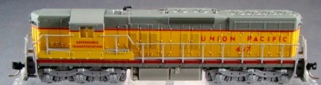 N Scale - Atlas - 4512 - Locomotive, Diesel, EMD SD7 - Union Pacific - 457