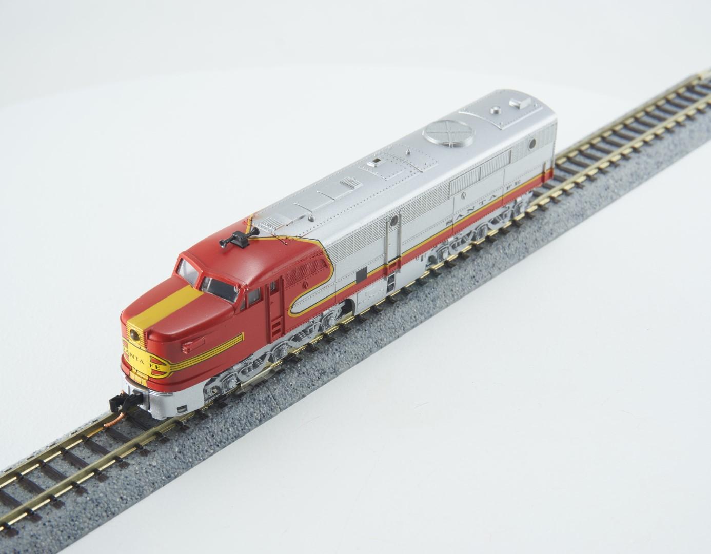 N Scale - Con-Cor - 0001-202102 - Locomotive, Diesel, Alco PA/PB - Santa Fe - 59