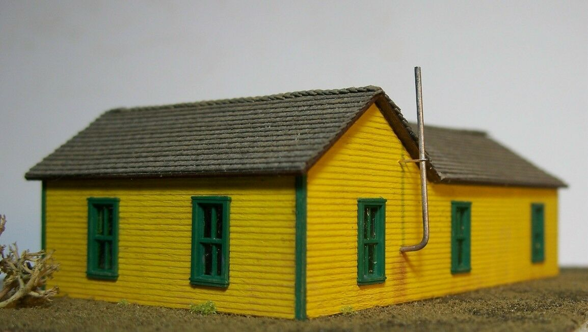 N Scale - Motrak Models - 13001 - Structure, Wooden Shed - Railroad Structures - MOW Shed