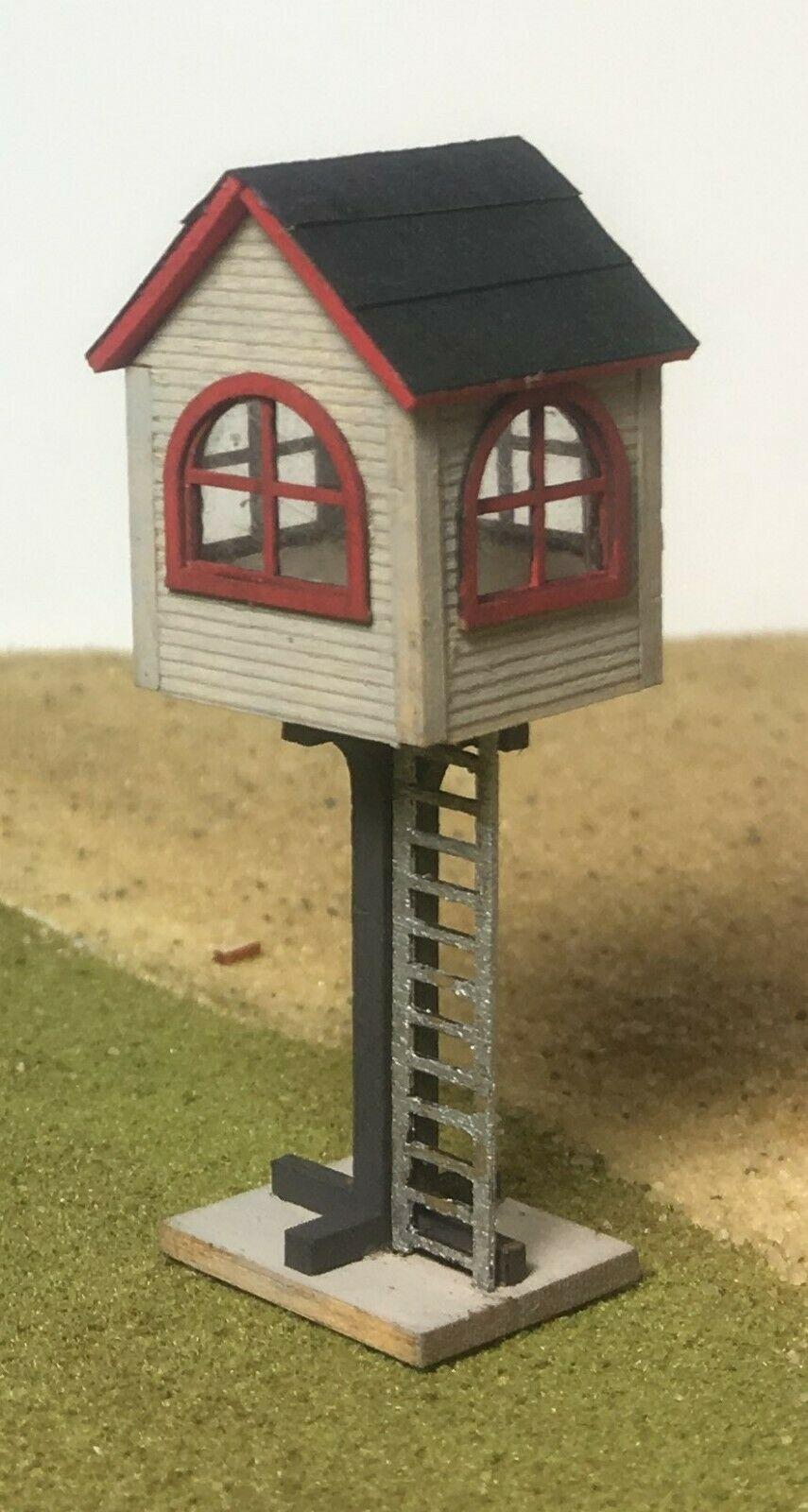 N Scale - Motrak Models - 13401 - Structure, Railroad, Watch Tower - Railroad Structures - Watch Tower