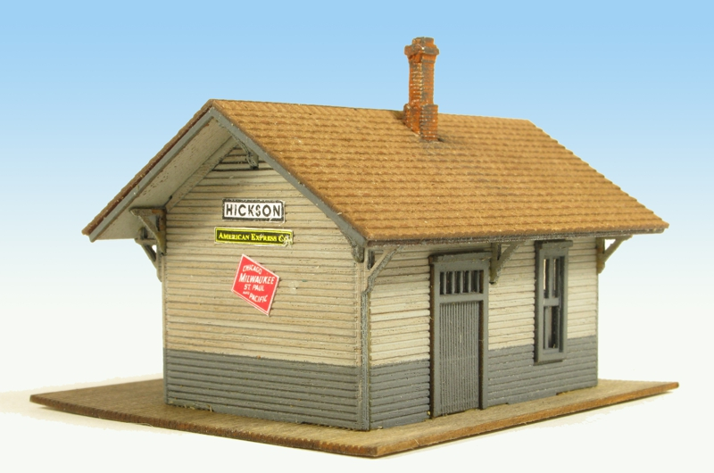 N Scale - Monroe Models - 9210 - Railroad Depot - Railroad Structures - Hickson Depot