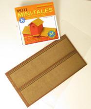 N Scale - Monroe Models - 9311 - Structure, Wooden Shingles - Scenery - Cedar Shake Shingles