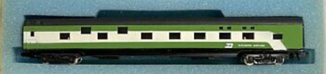N Scale - Con-Cor - 4011H - Passenger Car, Smoothside, 85 Foot Sleeper - Burlington Northern