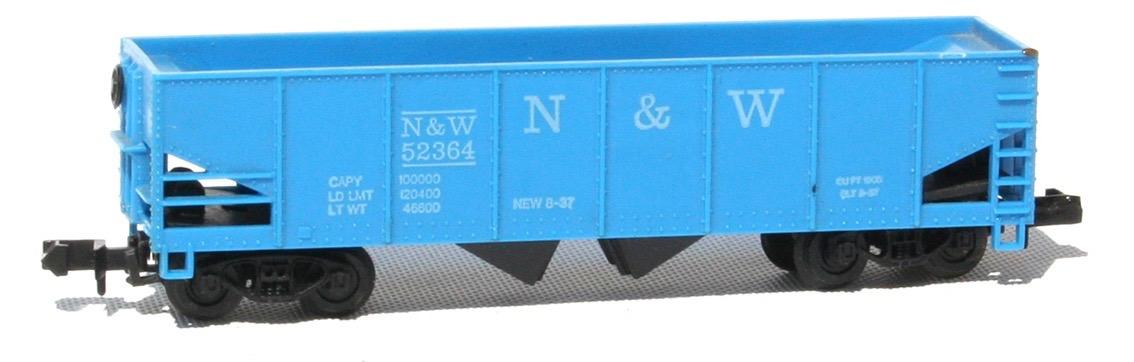 N Scale - Arnold - 0402D - Open Hopper, 2-Bay, 100 Ton - Norfolk & Western - 52364