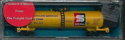 N Scale - The Freight Yard - 9915C - Tank Car, Single Dome, 50 Foot - Safety-Kleen - 25006