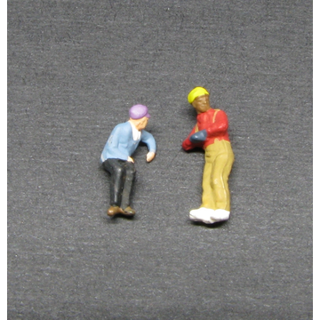 N Scale - Showcase Miniatures - 7503 - Figures, Railroad - People - Engineer & Fireman