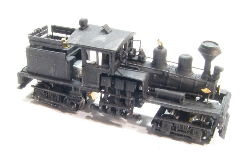 N Scale - Showcase Miniatures - 5006 - Locomotive, Steam, 2-Truck Shay - Undecorated - Class B 30-40 Ton Shay