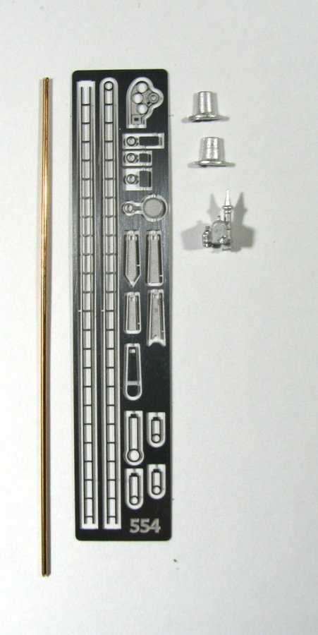 N Scale - Showcase Miniatures - 554 - GRS Semaphore Signal - Undecorated - Signal