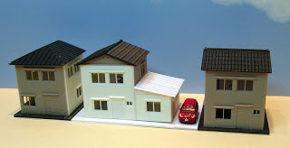 N Scale - Greenmax - 34 - House - Residential Structures