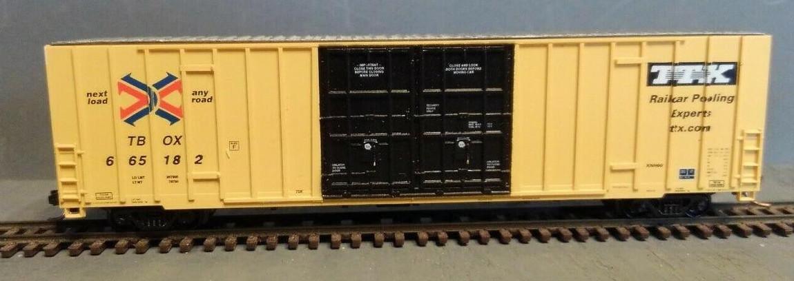 N Scale - LBF Company - 5904 - Boxcar, 60 Foot, Gunderson, Hi-Cube - RailBox - 665182