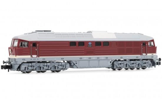 N Scale - Arnold Hornby - HN2297 - Engine, Diesel, Class 130 - Deutsche Reichsbahn (East Germany) - 130 042