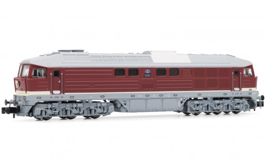 N Scale - Arnold Hornby - HN2297S - Engine, Diesel, Class 130 - Deutsche Reichsbahn (East Germany) - 130 042