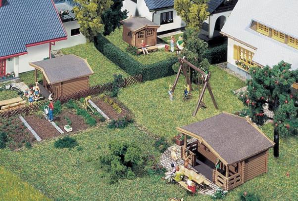 N Scale - Kestrel Designs - GMKD1014 - Residential Structures, House - Residential Structures - Summerhouses Kit (2)