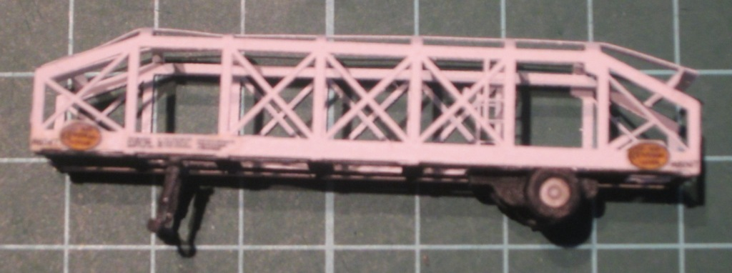 N Scale - N Scale Kits - NS113 - Flexi-Van Autocarrier - Undecorated