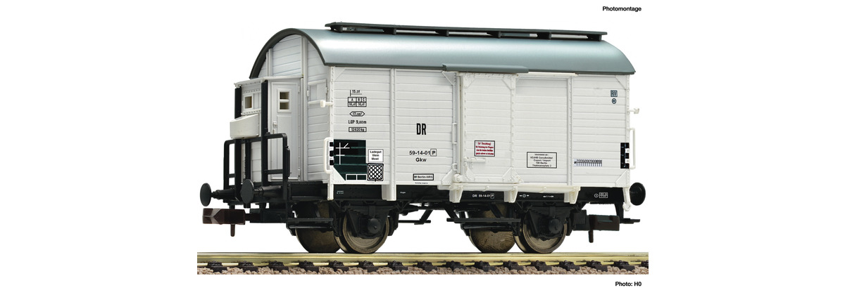 N Scale - Fleischmann - 845712 - Tank Car, Wine Barrel - Deutsche Reichsbahn - 59-14-01