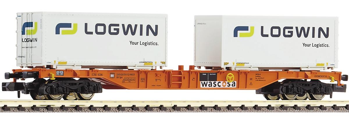 N Scale - Fleischmann - 824402 - Container Wagon - Wascosa