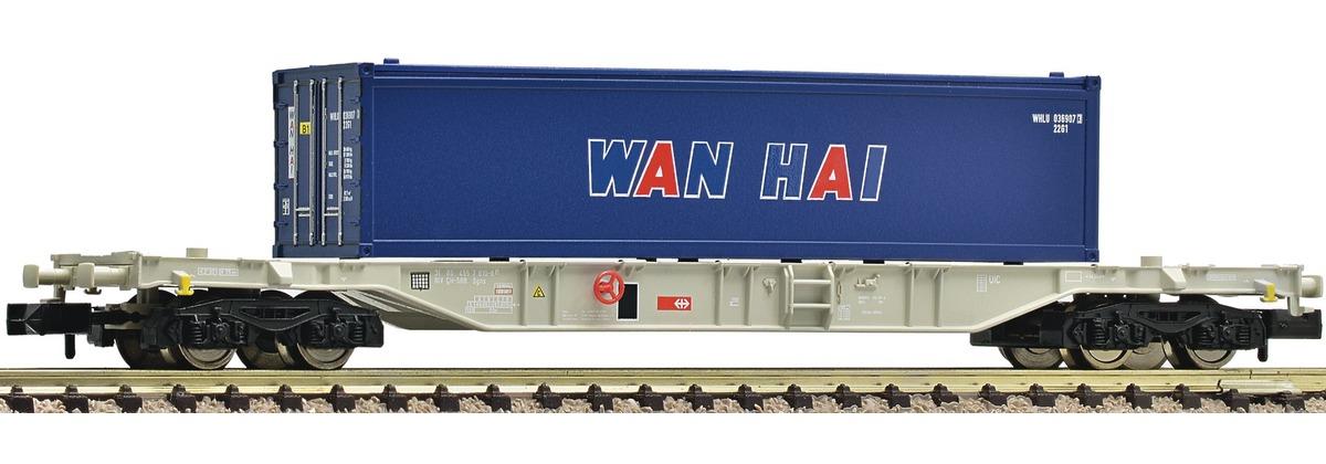 N Scale - Fleischmann - 824404 - Container Wagon - SBB CFF FFS