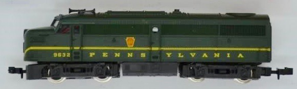 N Scale - Roco - 3159B - Locomotive, Diesel, Alco FA/FB - Pennsylvania - 9632