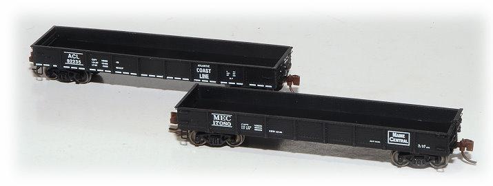 N Scale - Eastern Seaboard Models - 600300 - Gondola, 41 Foot, Nine Panel - Undecorated - 41