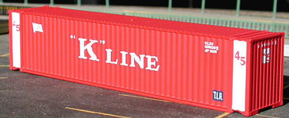 N Scale - Deluxe Innovations - 6080 - Container, 45 Foot - K Line - 2-Pack