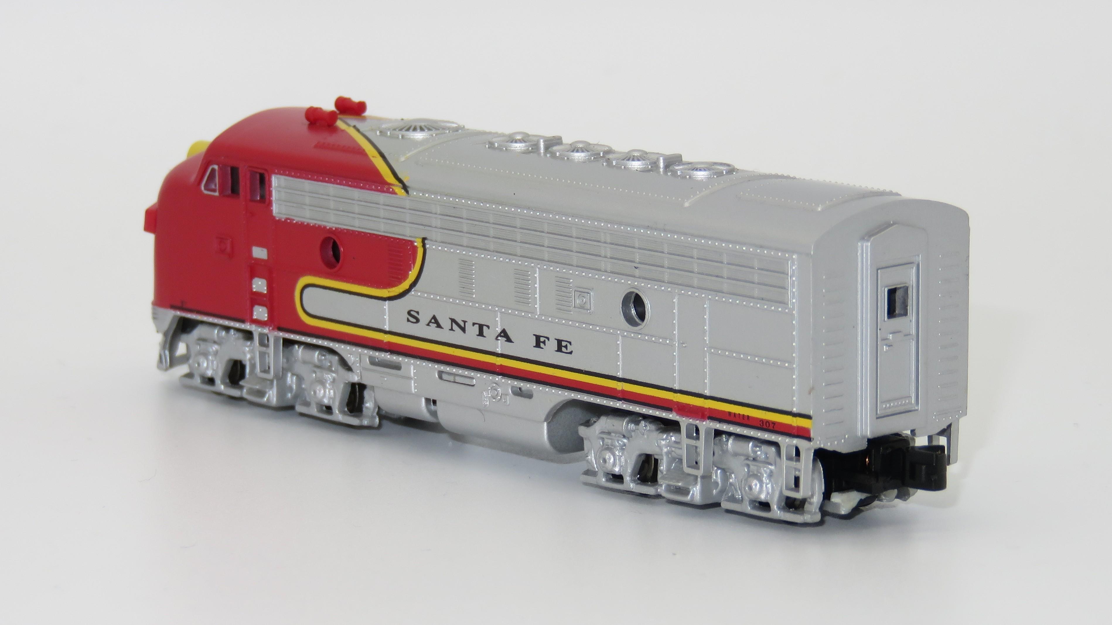N Scale - Bachmann - 81259-A - Locomotive, Diesel, EMD F7 - Santa Fe - 307