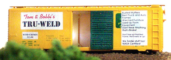 N Scale - Deluxe Innovations - M106 - Boxcar Shed, Shop - Commercial Structures - Tom & Bobbis Tru-Weld