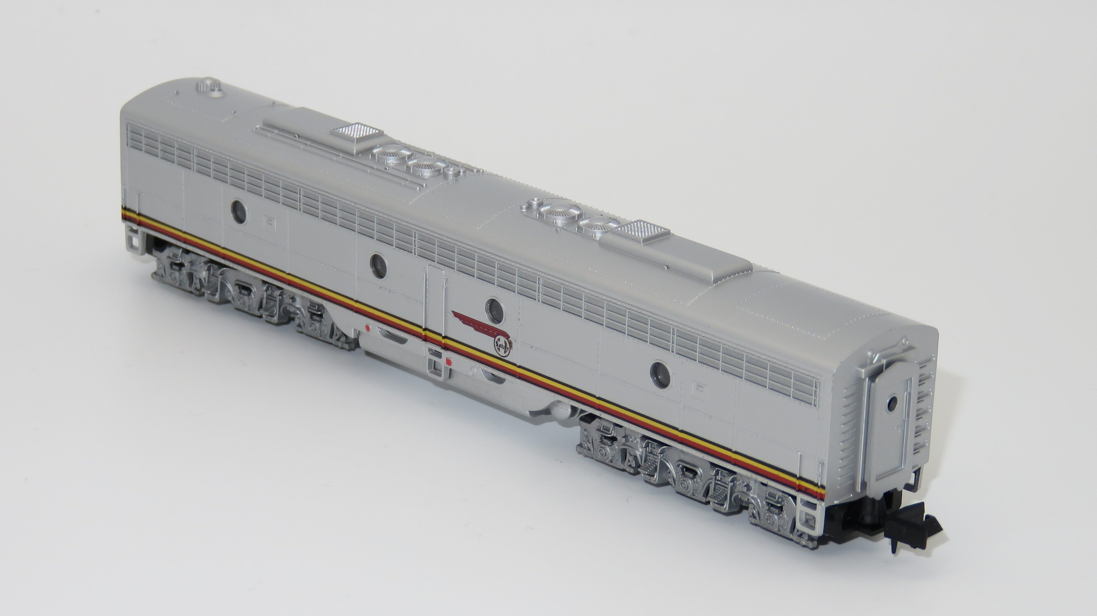 N Scale - Life-Like - 7827-B - Locomotive, Diesel, EMD E8 - Santa Fe - 80A