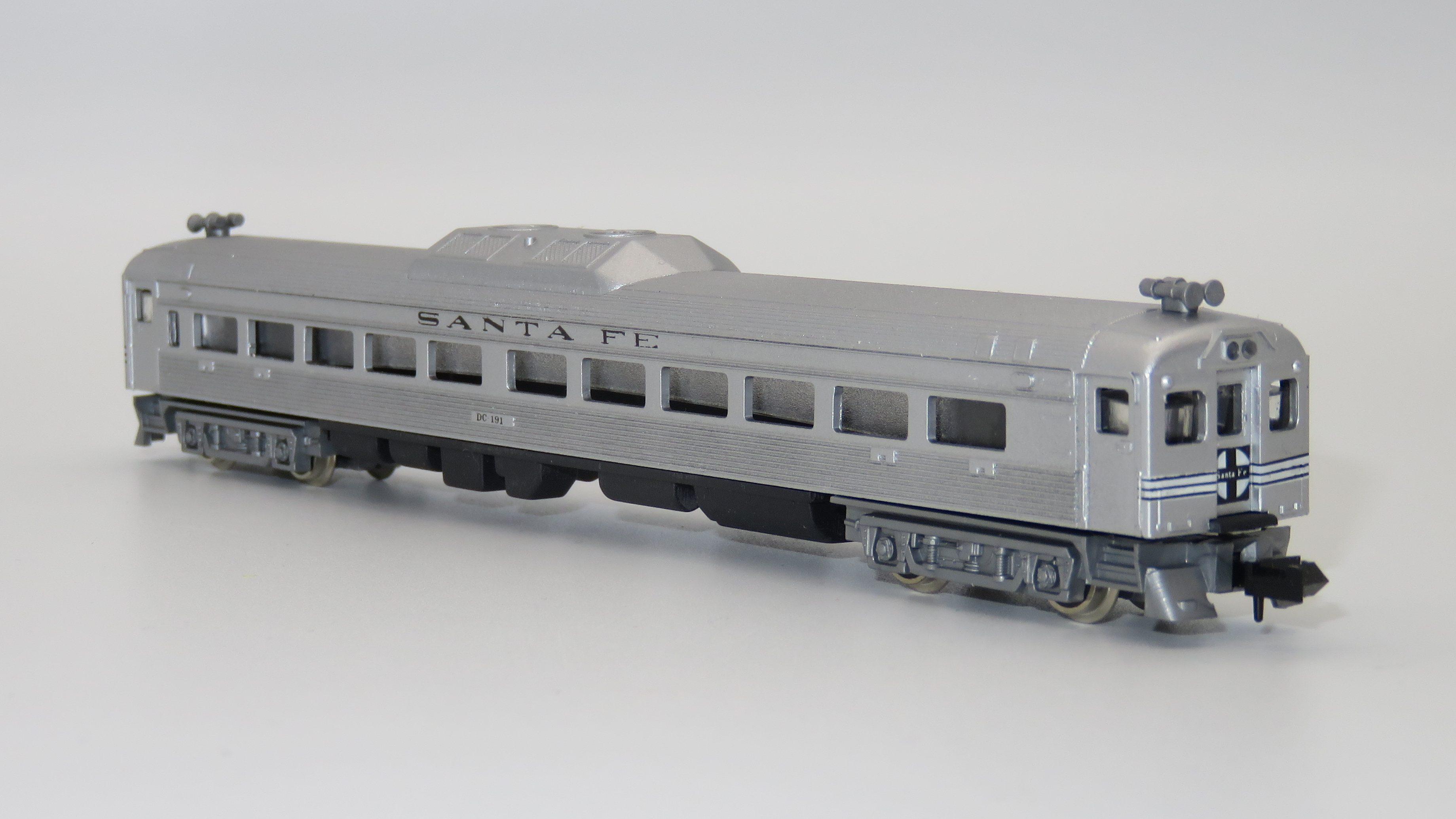 N Scale - Con-Cor - 0001-004461 - Railcar, Diesel, Budd RDC - Santa Fe - DC 191