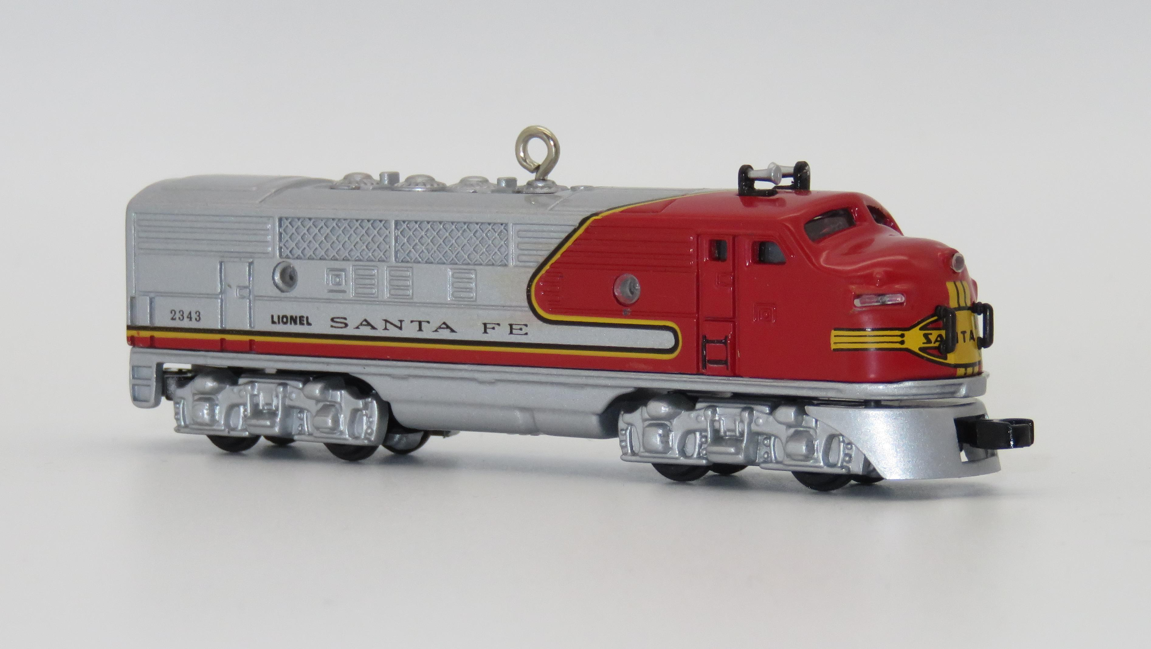 N Scale - Hallmark Cards - QX6145 - Locomotive, Diesel, EMD F3 - Santa Fe - 2343