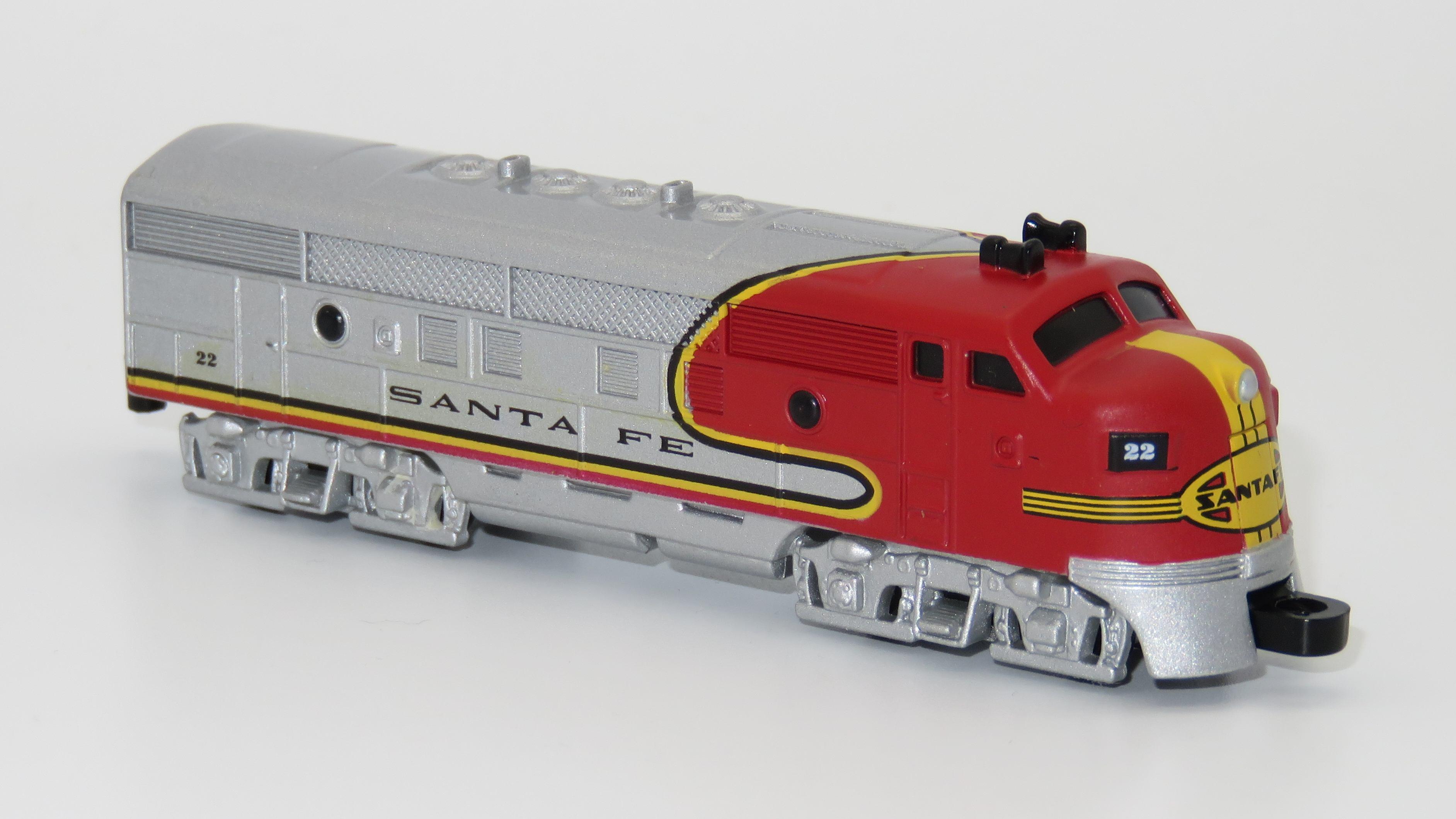 N Scale - Lionel - 7-95001 - Locomotive, Diesel, EMD F3 - Santa Fe - 22