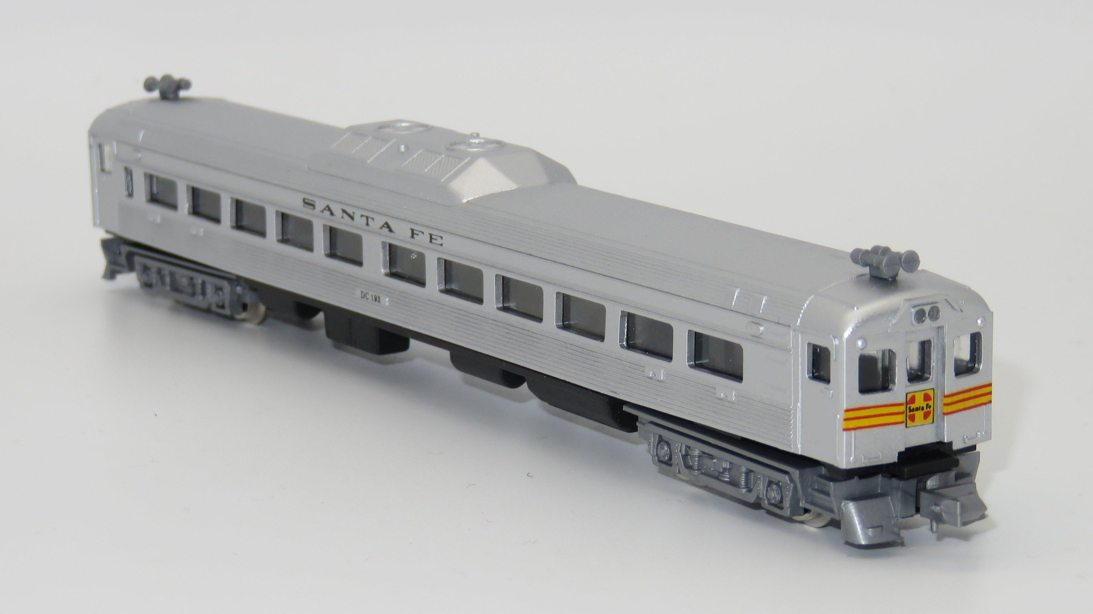 N Scale - Con-Cor - 0001-4461-2 - Railcar, Diesel, Budd RDC - Santa Fe - DC 192