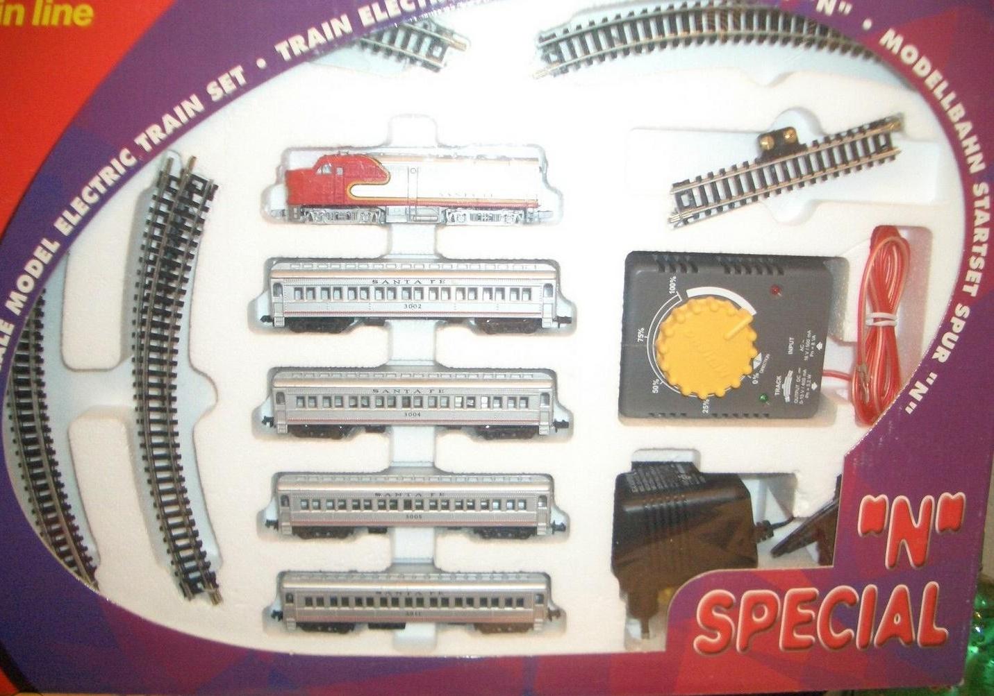 N Scale - Mehano - T772 - Locomotive, Diesel, Alco FA/FB - Santa Fe