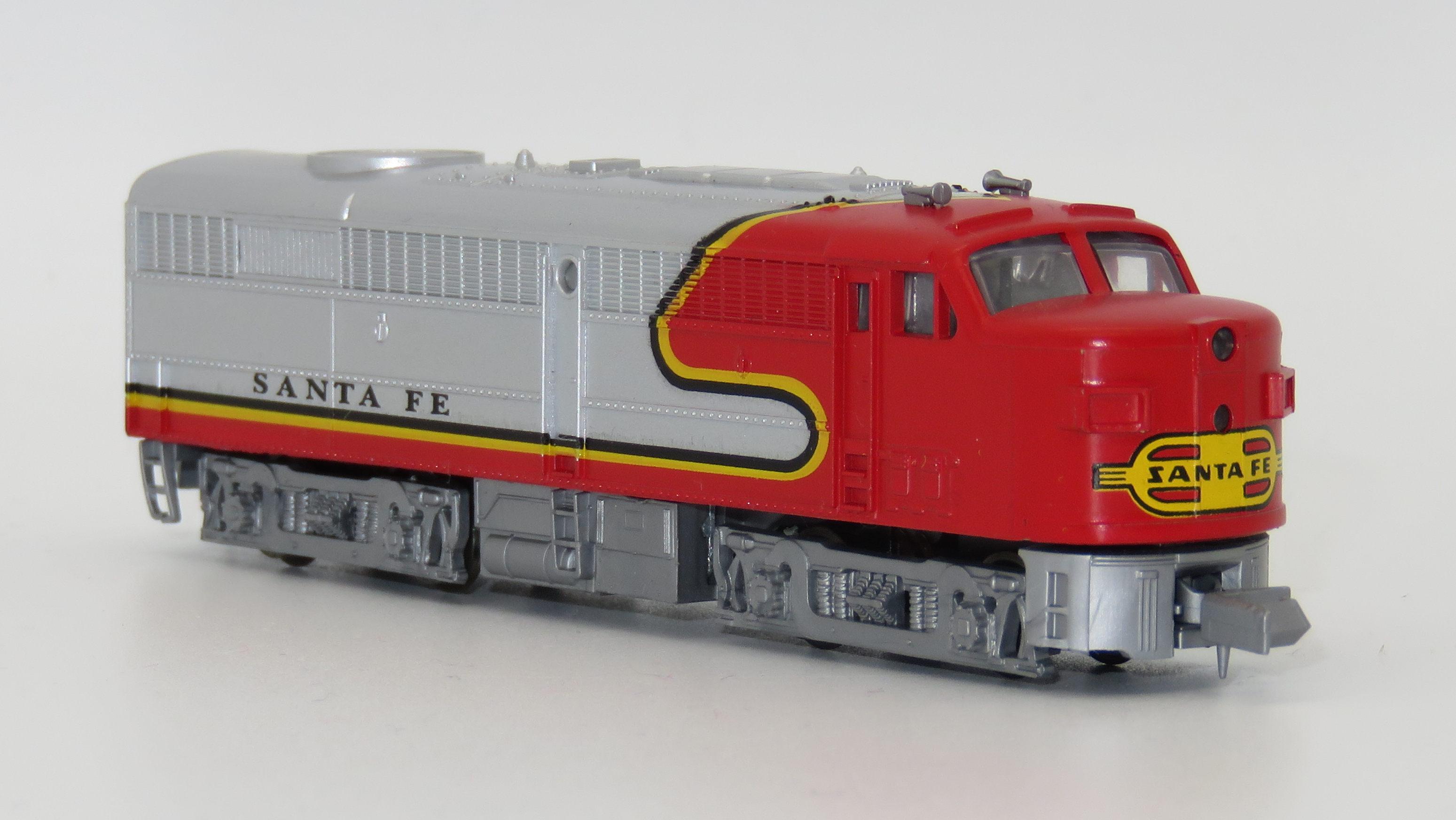 N Scale - Mehano - T772-A - Locomotive, Diesel, Alco FA/FB - Santa Fe
