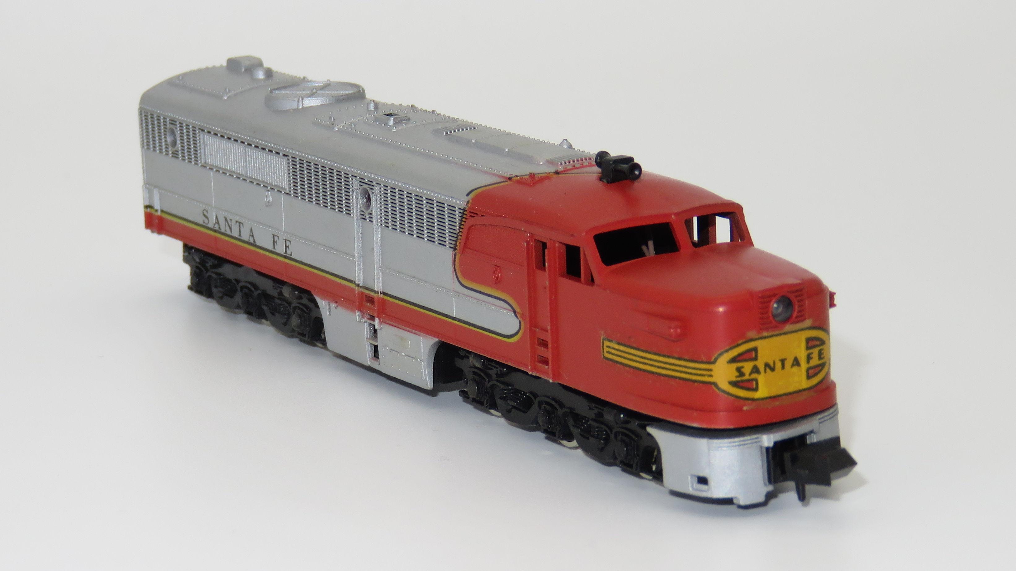 N Scale - Con-Cor - 2102 - Locomotive, Diesel, Alco PA/PB - Santa Fe