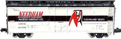 N Scale - Brooklyn Locomotive Works - 1000 - Reefer, Ice, Steel - Needham Packing - 60498